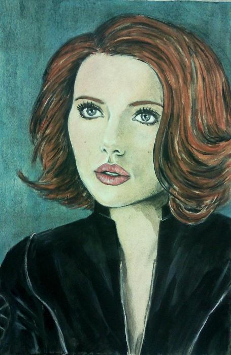 Scarlett Johansson por ALEXY